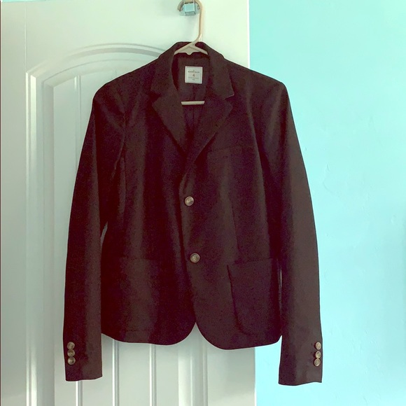 GAP Jackets & Blazers - Gap Academy Blazer black 4 striped cuffs jacket